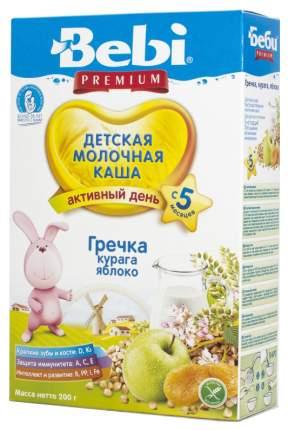 Молочная каша Bebi Гречневая с курагой и яблоком с 5 мес 200 г