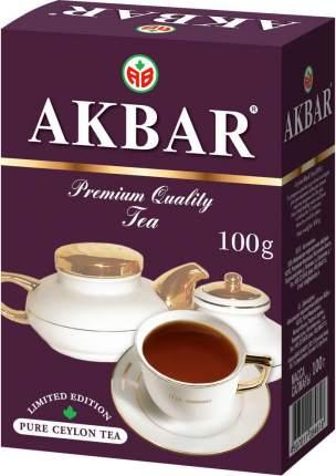 Чай черный Akbar 100 г