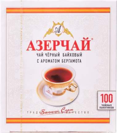 Чай черный Азерчай с ароматом бергамота 100 пакетиков