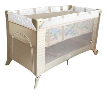 Кровать-манеж Intelletto 5 в 1 crema Sweet Baby