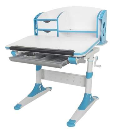 Стол письменный Aivengo-S бело-синий Mealux