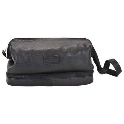 Несессер кожаный Dr. Koffer X280802-02-04 черный