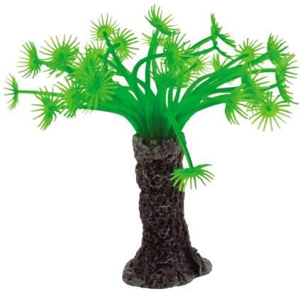 Искусственный коралл искусственный коралл 12см зеленый