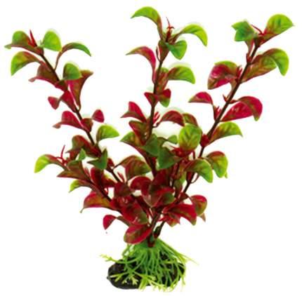 Искусственное растение для аквариума DEZZIE , зеленый, красный, пластик, 20см