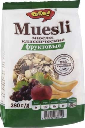 Мюсли классические Ого! фруктовые 280 г