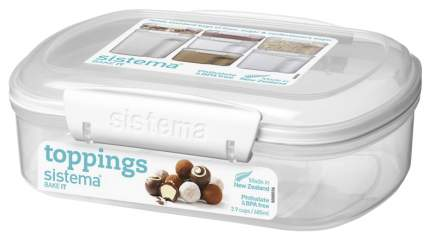 Контейнер Sistema Bake-it 1220 Белый, прозрачный