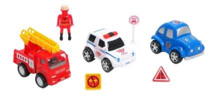 Набор машин Pullback Friction Car Sseries Shenzhen Toys В54139
