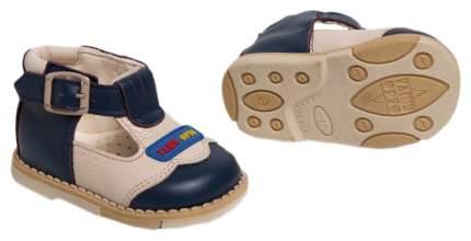 Туфли Таши Орто с логотипом сине-белые