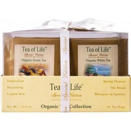 Чайный набор Tea of Life organic 2 г 48 пакетиков