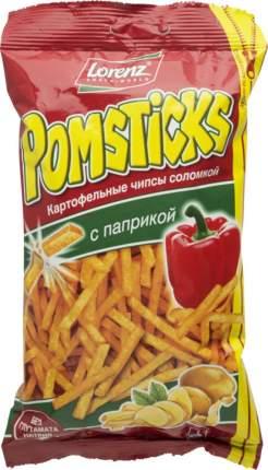 Картофельные чипсы соломкой Lorenz pomsticks с паприкой 100 г