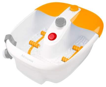 Массажная ванночка для ног Medisana FS 883 белая/желтая