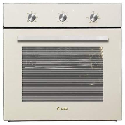 Встраиваемый электрический духовой шкаф LEX EDM 070 IV Beige