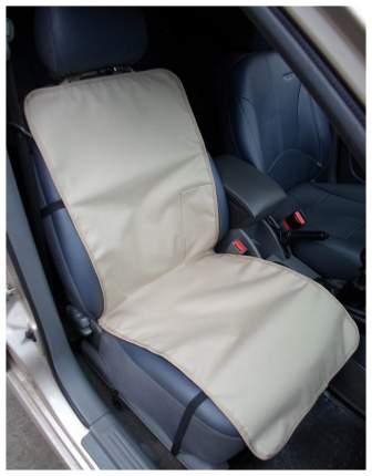 Накидка переднее сиденье с карманом (бежевая)