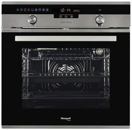 Встраиваемый электрический духовой шкаф Weissgauff EOA 691 PDX Silver/Black