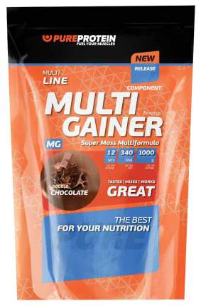 Гейнер PureProtein Multi Gainer 1000 г двойной шоколад
