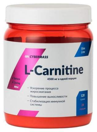 CyberMass L-Carnitine, 120 г, лимон-лайм