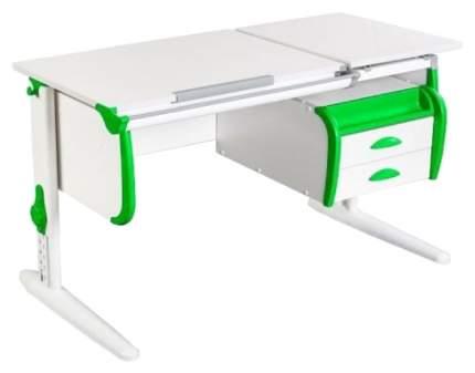 Парта Дэми White Double СУТ 25-03 Белый/Зеленый