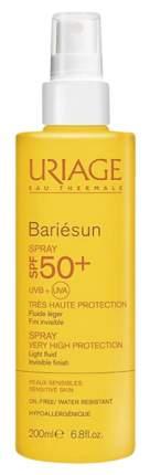 Солнцезащитное средство Uriage Bariesun SPF 50+ 200 мл