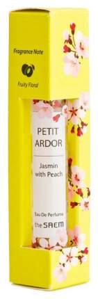 Парфюмерная вода The Saem Petit Ardor Perfume Jasmine with Peach 10 мл
