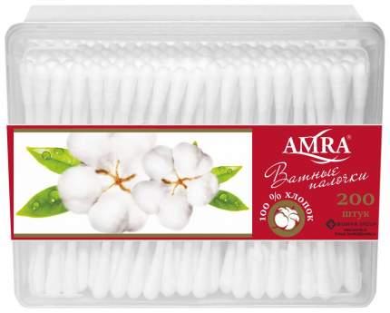 Ватные палочки Amra 0910-2503 200 шт