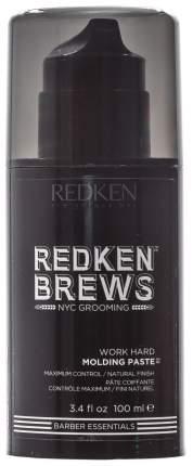 Средство для укладки волос Redken Brews Work Hard Molding Past 100 мл