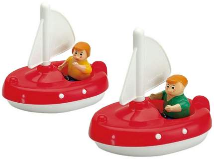 AQUAPLAY Игровой набор игрушки для воды Акваплей Парусники с фигурками 222 в упаковке