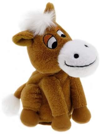 Интерактивная Мягкая игрушка Woody OTime Лошадка непоседа Коричневая