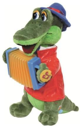 Мягкая игрушка Мульти-Пульти Карапуз крокодил гена 33 см с аккордеоном