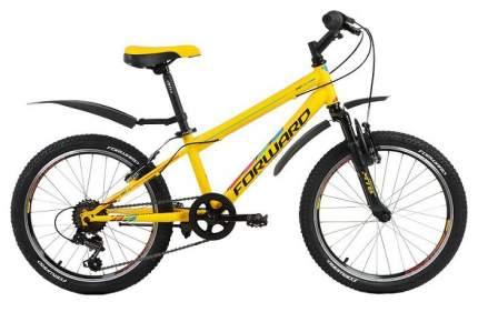 Велосипед UNIT 2.0 (рост 10.5) 2017-2018 желтый мат.