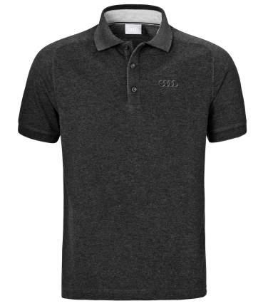 Мужская рубашка-поло Audi размер S, Classic Logo, Dark Grey 3131700912 Dark Grey