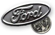 Значок Ford Oval 36000007 Silver