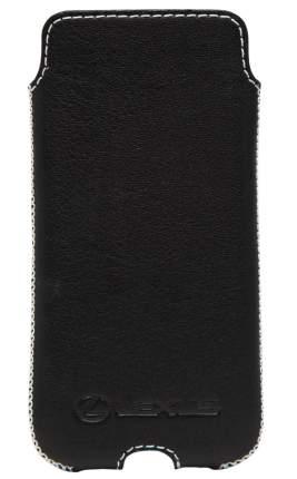 Кожаный чехол Lexus для iPhone 6 Plus LMPE13022L Black