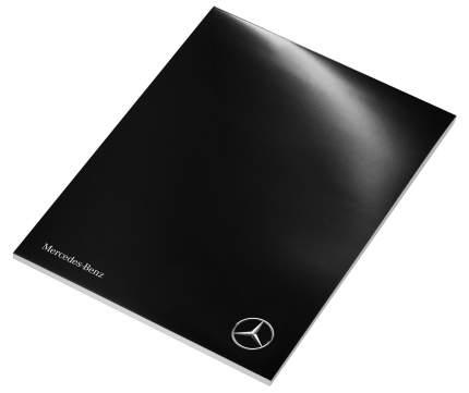 Блокнот Mercedes-benz B66958366 Writing Pad 2017 Black/White