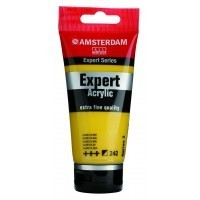 Акриловая краска Royal Talens Amsterdam Expert №242 кобальт желтый 75 мл