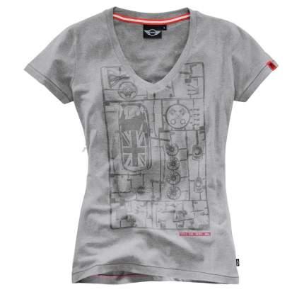 Женская футболка Mini 80142288473 Yours Grey