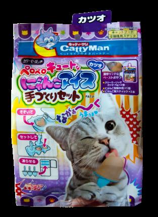 Лакомство для кошек Japan Premium Pet, эскимо на основе японского тунца-бонито, 140г