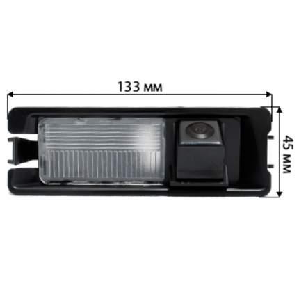 Камера заднего вида BlackMix для Renault Sandero (2008+)