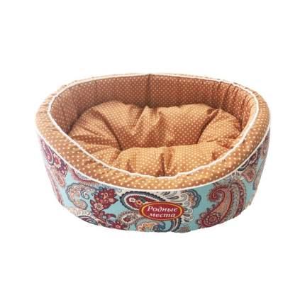 Лежак для животных Родные места Премиум №1 Золотой огурец, 43х38х15 см