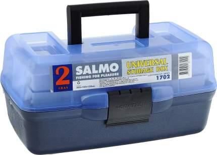 Ящик рыболовный пластмассовый Salmo, 2 полки