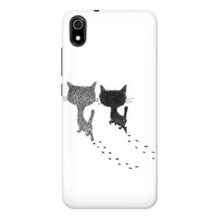 Чехол Gosso Cases для Xiaomi Redmi 7A «Кошачьи следы»