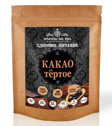Какао Продукты XXII века тертое 200 г