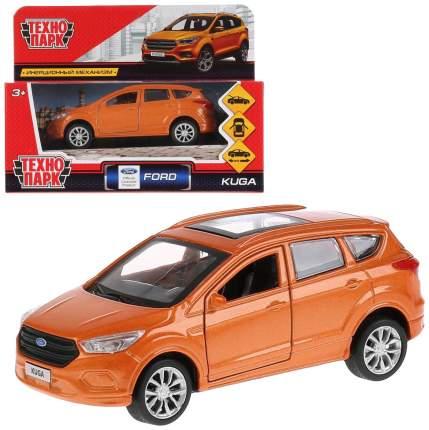 Машина металлическая инерционная Ford Kuga, цвет золотой, 12 см Технопарк