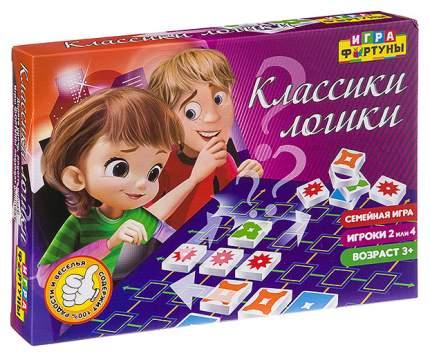 """Настольная семейная игра """"Классики логики"""""""