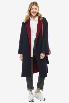 Пальто женское Tommy Hilfiger WW0WW25157 403 синее 2 US