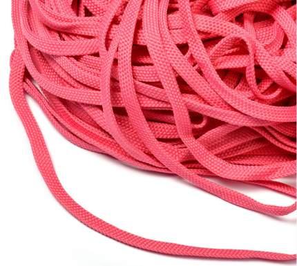 Шнур обувной  859 8 мм ярко-розовый