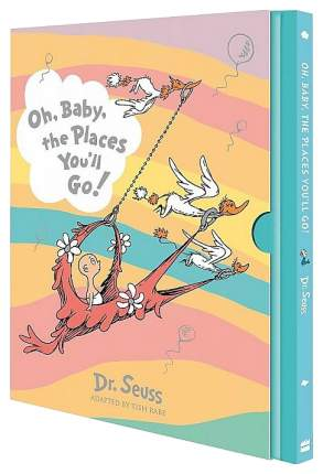 "Книга HarperCollins Publishers Dr. Seuss ""Oh, Baby, Places You'll Go!"""