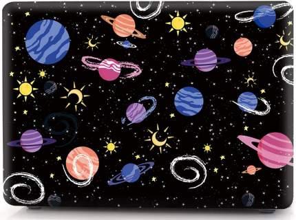 """Чехол для Macbook Air 13"""" i-Blason Cover A1932 space planet"""