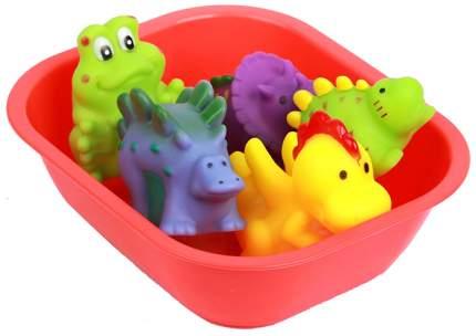 """Набор игрушек для ванны """"Динопарк"""", 6 предметов Крошка Я"""