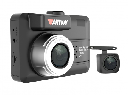 Видеорегистратор с радар-детектором Artway MD-109 две камеры