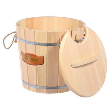 Запарник для бани Банные штучки с крышкой 25 л